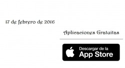 Apps gratis para iPhone por tiempo limitado (17-2-2016)