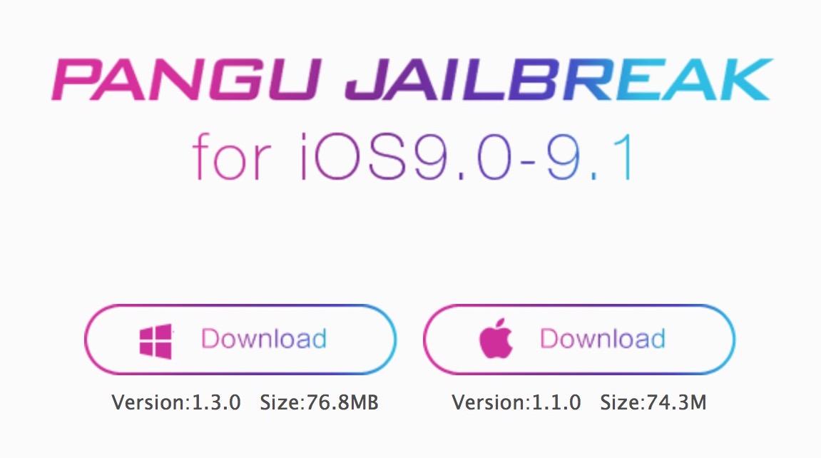 Pangu Team libera jailbreak para iOS 9.1
