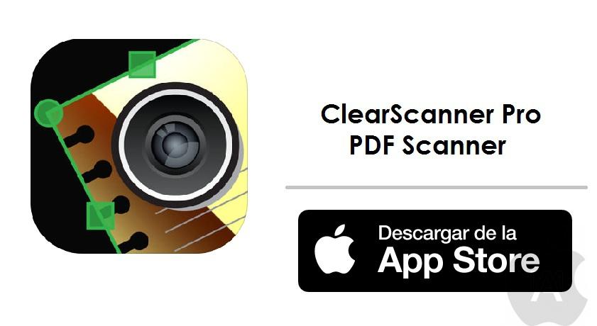App Store: ClearScanner Pro – PDF Scanner (Hoy Gratis)