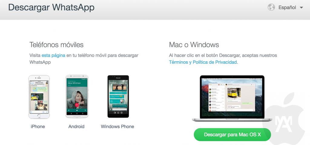 WhatsApp ya tiene aplicación de escritorio para Mac y Windows