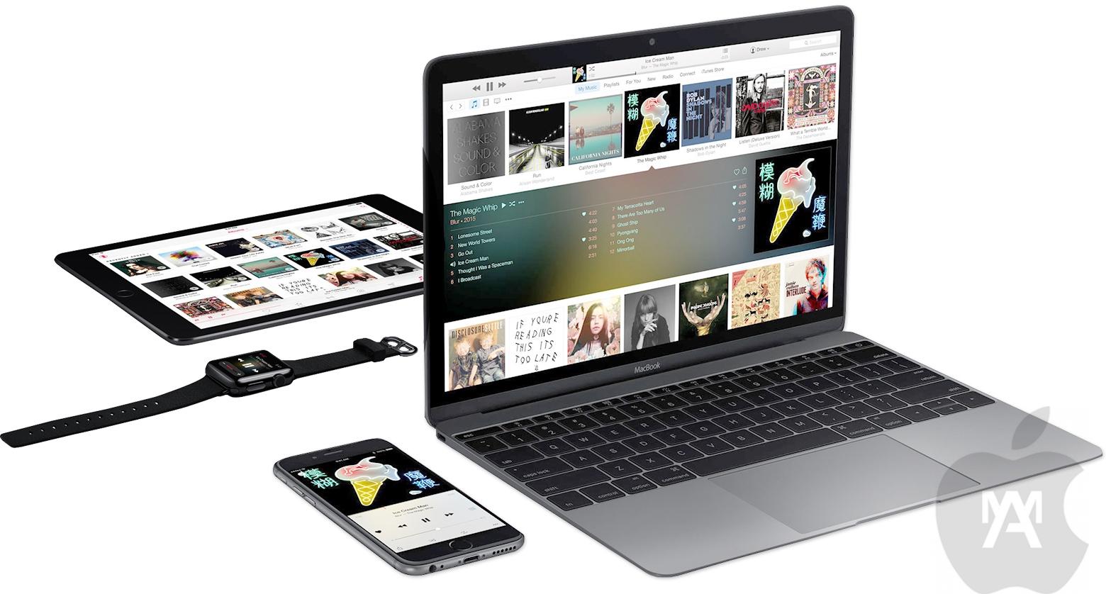 AppleMusic se relanza cuando casi cumple un año de vida