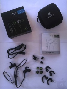 Auriculares Bluetooth Q12 de SoundPeats