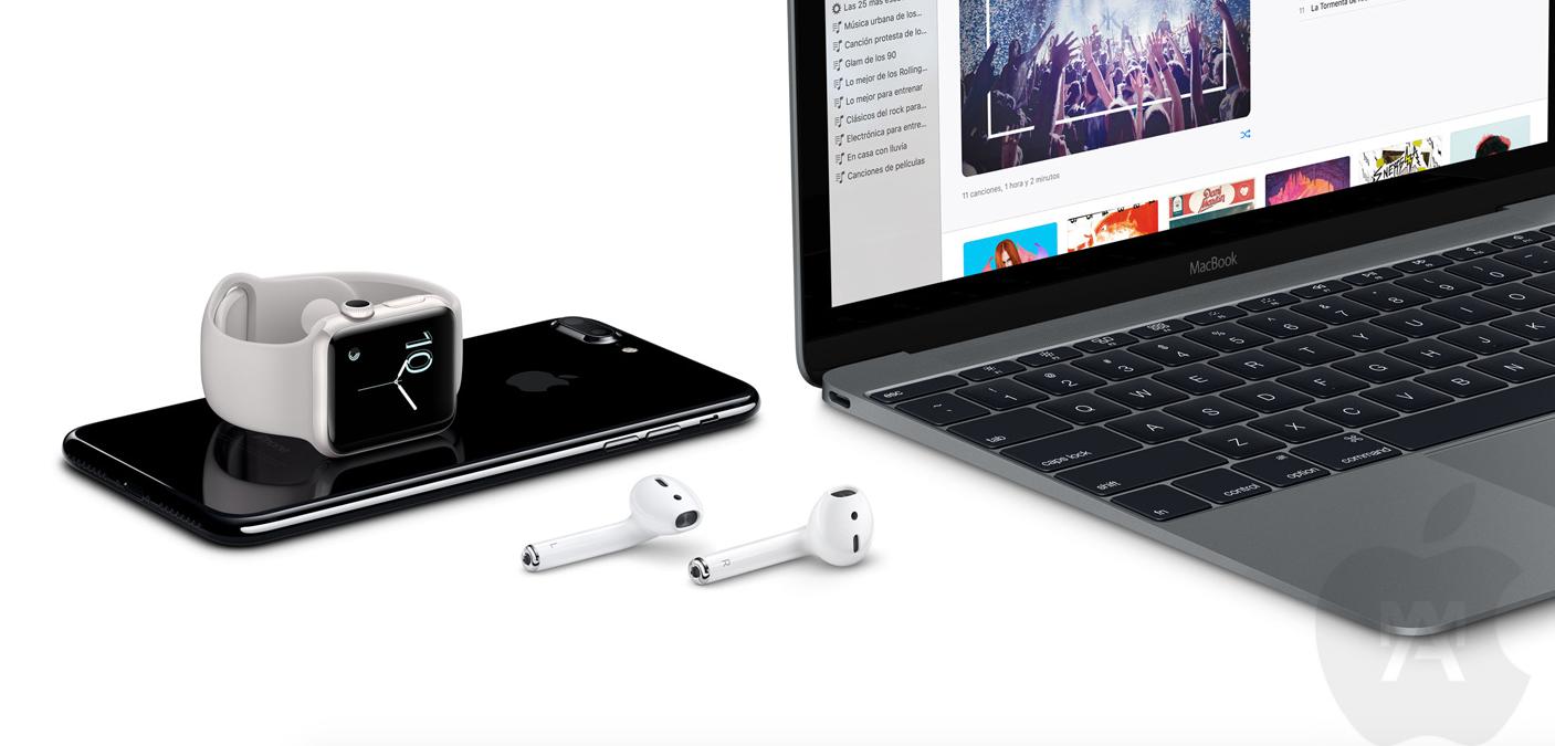 iPhone 7 y  AirPod lo más destacado de la Keynote de Apple