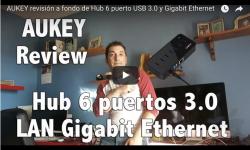 AppleManiacos TV: AUKEY revisión a fondo de Hub 6 puerto USB 3.0 y Gigabit Ethernet