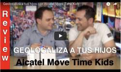 Geolocaliza a tus hijos con Alcatel Move Time Kids