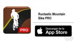 Gratis en la App Store: Runtastic Mountain Bike PRO
