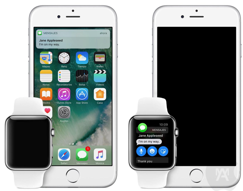 Las notificaciones no suenan en el iPhone cuando activo el Apple Watch