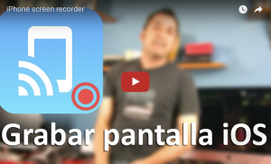iPhone screen recorder, graba la pantalla de iOS en Mac y Windows