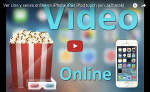 Ver cine y series online en iPhone iPad iPod touch
