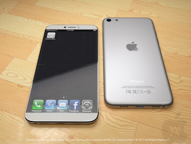iPhone de 5 pulgadas