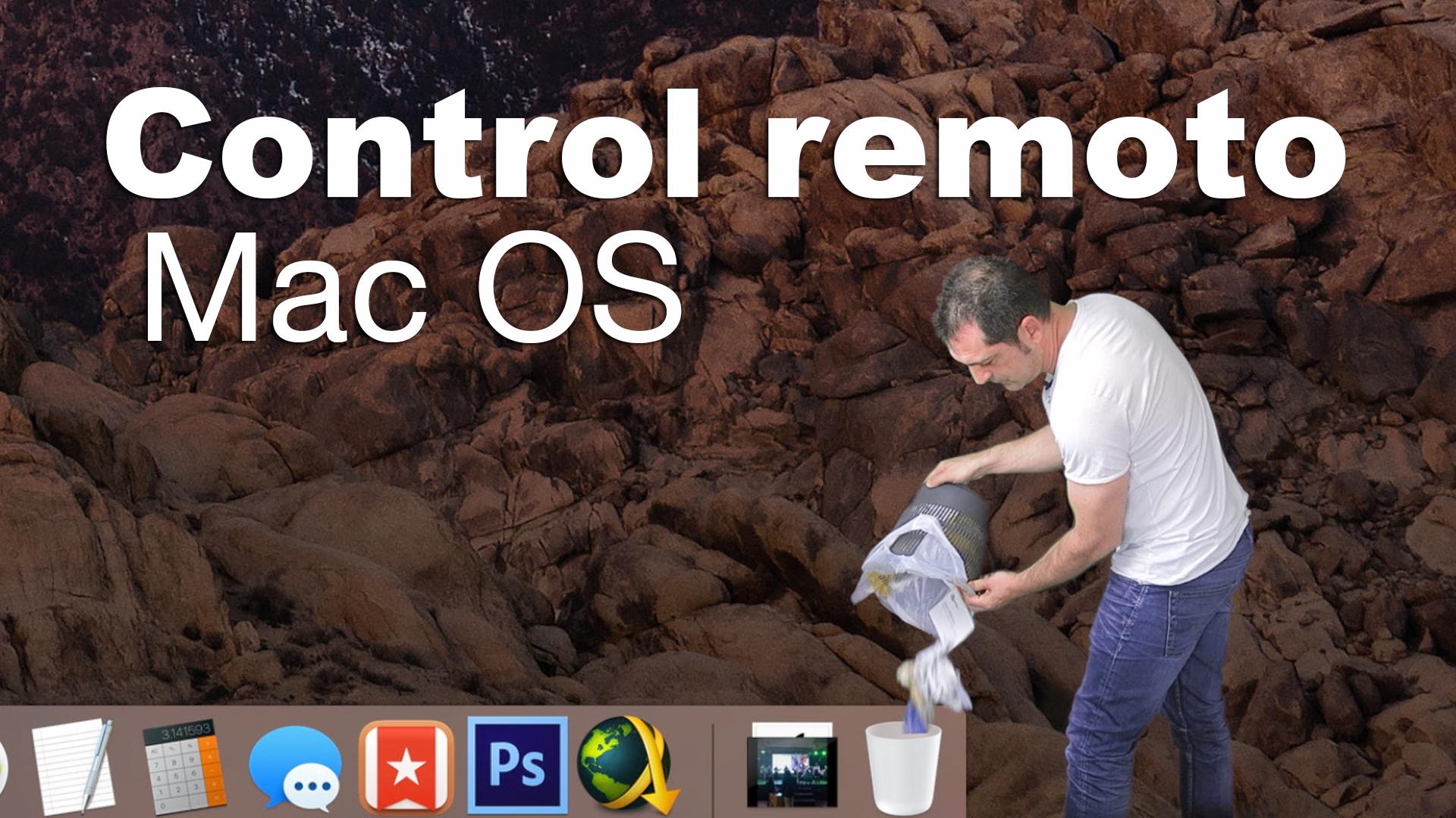 compartir la pantalla del Mac