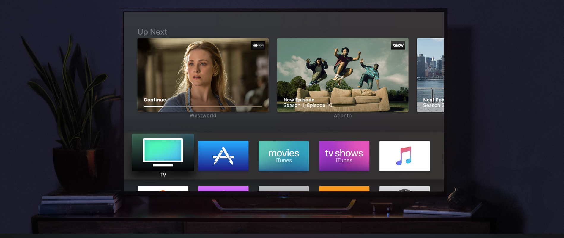 relanzar Apple TV