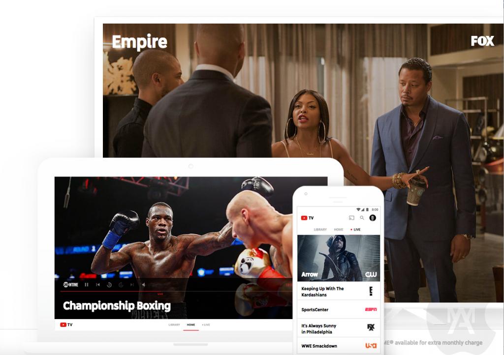 Youtube TV será lanzado en algunas zonas de Estados Unidos próximamente
