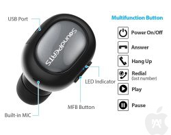 De la familia SoundPEATS, el pequeño pero gran auricular Bluetooth Modelo D3