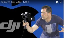 Review DJI Osmo Mobile + DJI GO