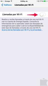LLamadas Wi-Fi
