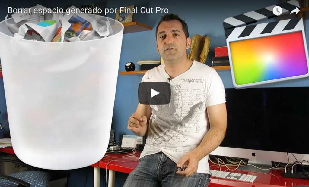 Liberar espacio de tu Mac que ha generado Final Cut Pro X & iMovie