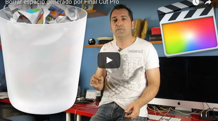 Liberar espacio de tu Mac que ha generado por Final Cut Pro X & iMovie