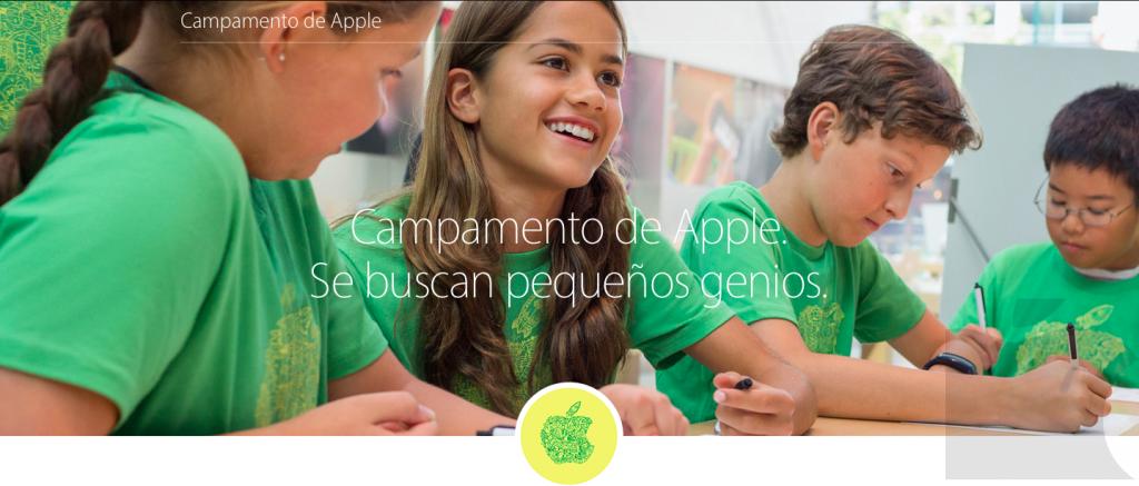 Llegan los campamentos de verano a Apple.