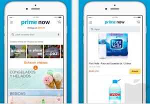 Me encanta Amazon Prime Now.