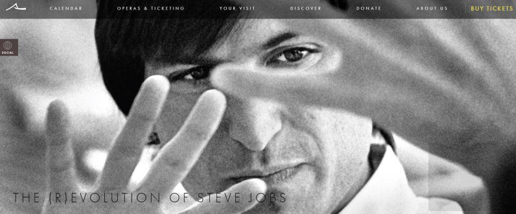 ópera Steve Jobs