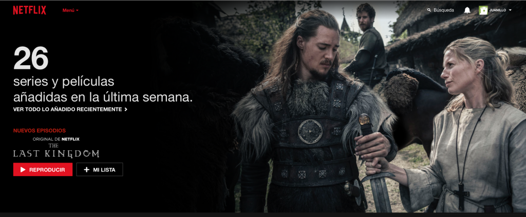 Netflix: 26 series y películas añadidas en los últimos 7 días.