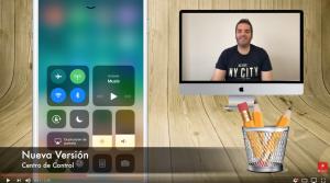 Nuevo Centro de Control en iOS 11 Beta