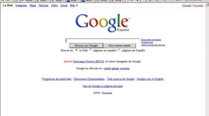 Google cambiará de apariencia.