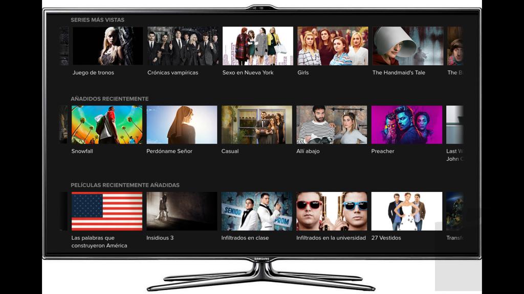 HBO España llega a Samsung
