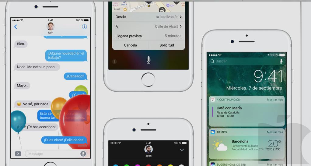 Actualización de iOS, macOS, watchOS y tvOS