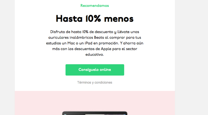 Vuelta al cole con Apple España.