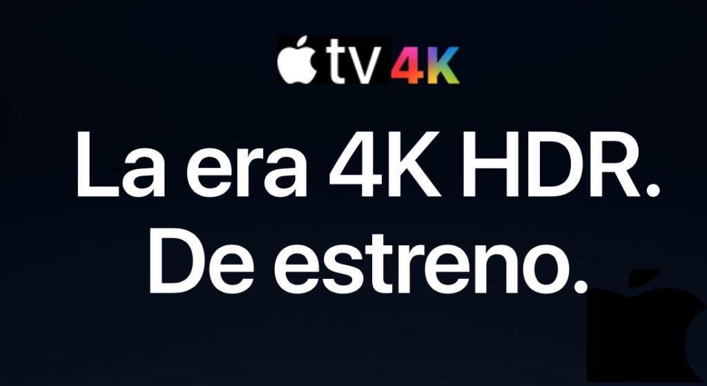Ya puedes hacer la reserva del Apple TV 4K.