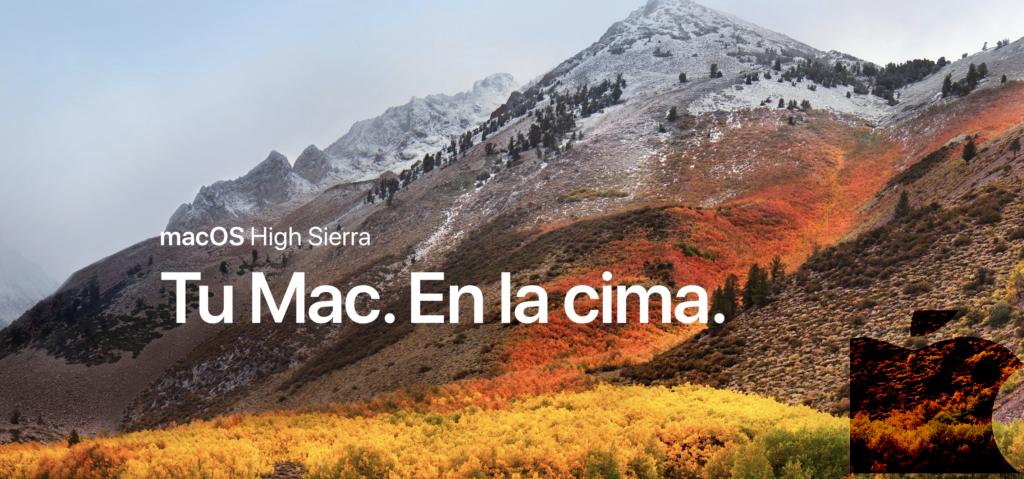 Hoy llega macOS High Sierra.