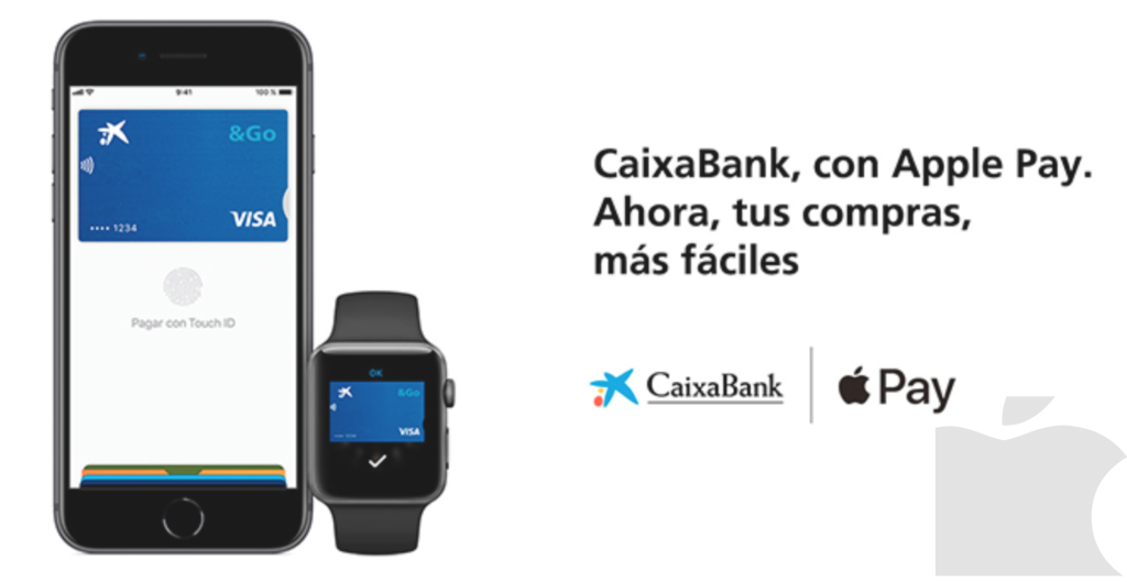 Caixa Bank lanza Apple Pay.