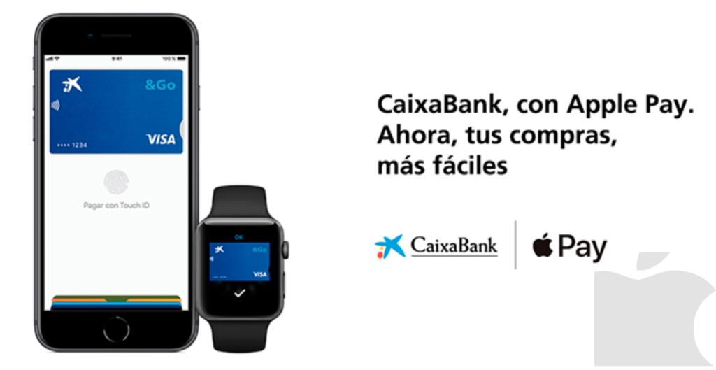 Caixabank lanza Apple Pay.