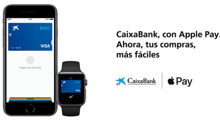 Caixa Bank lanza Apple Pay.
