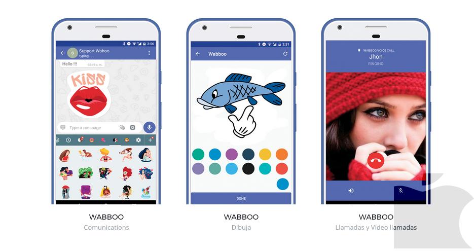 Wabboo la app de mensajería Made in Spain que competirá con WhatsApp