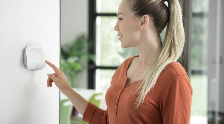 Somfy presenta en España su termostato conectado