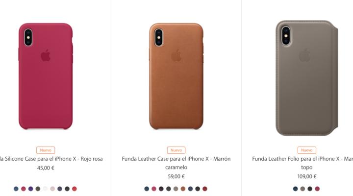 Ya están aquí las fundas para el iPhone X.