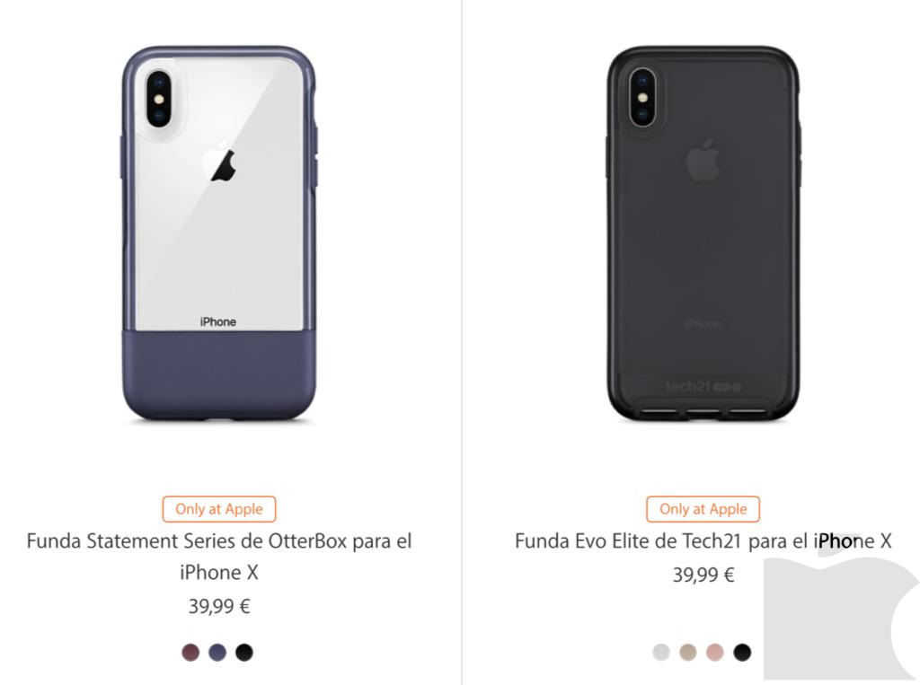 Ya están aquí las fundas para el iPhone X