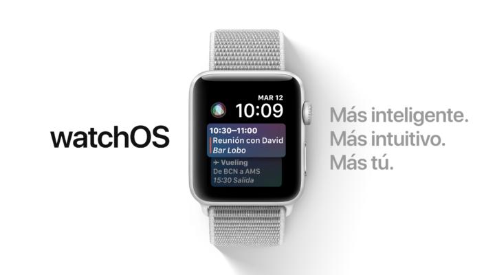 watchOS 4.1 también llega.