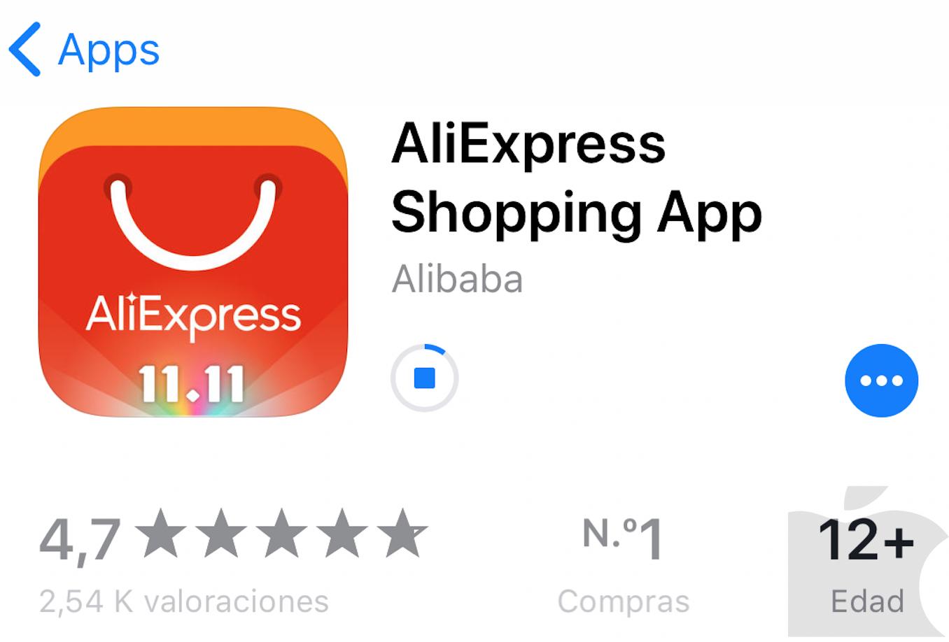 Fallo en la App Store con iPhone X