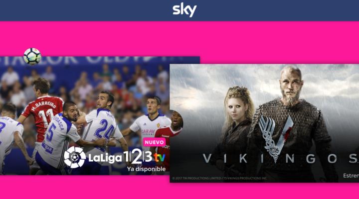 Sky España ofrece La Liga 1 2 3