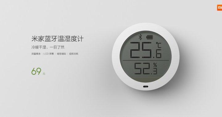 Un termómetro de Xiaomi conectado a tu smartphone