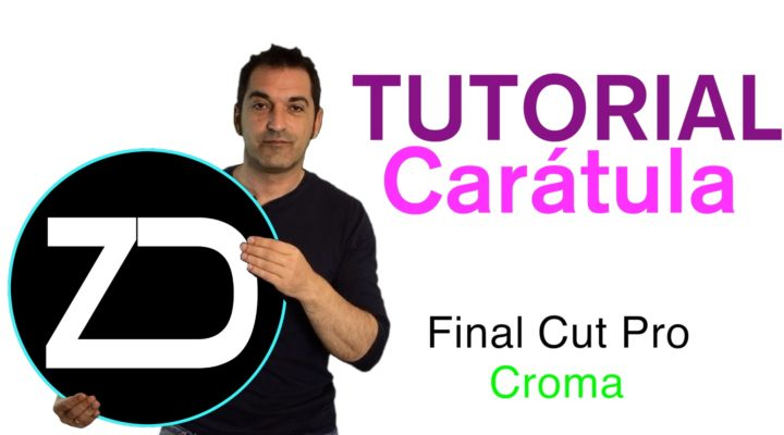 Miniaturas para los vídeos de YouTube con croma en Final Cut Pro