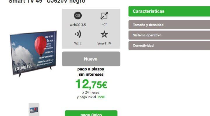 Amena incorpora smartvs a su catálogo