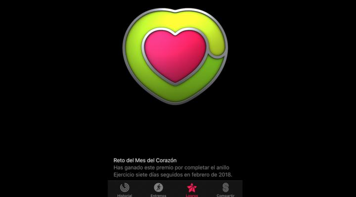 Apple regala la medalla del corazón