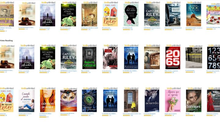 Llega Amazon Prime Reading