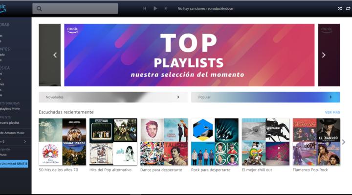Prime Music gratis para clientes Amazon Prime