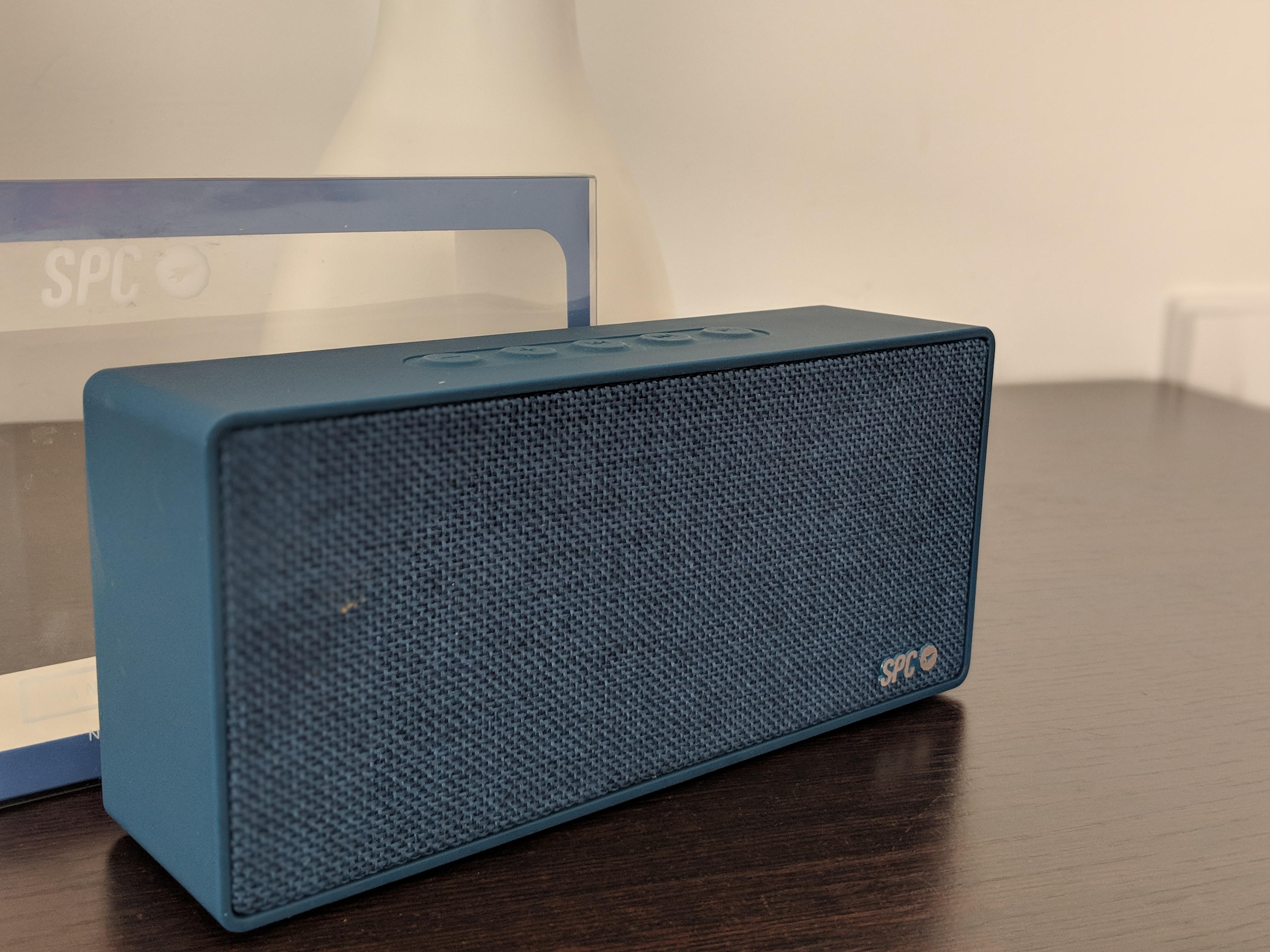 Llévate la música contigo. SPC Bang Speaker a fondo.